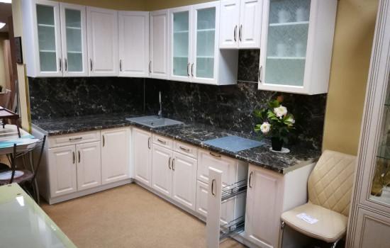 Набор кухонной мебели. Цвет Молочный улун