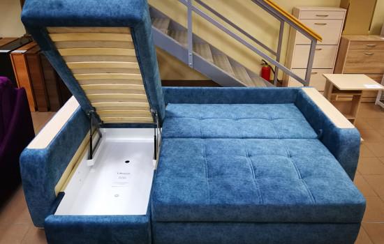Угловой диван на металлокаркасе