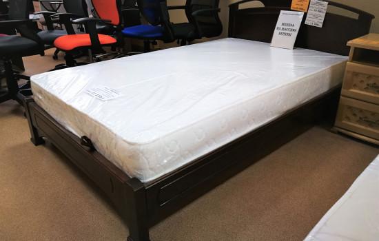 деревянная кровать со скидкой в Пушкино