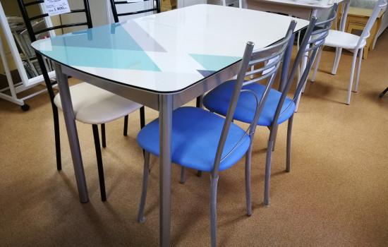 Раздвижные столы для кухни с фотопечатью в г. Пушкино