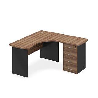 фото углового стола для кабинета