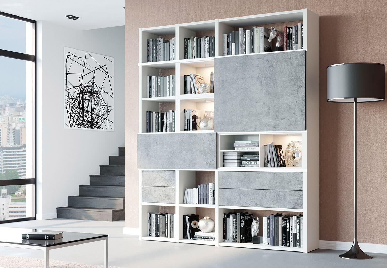 шкаф белого цвета в интерьере