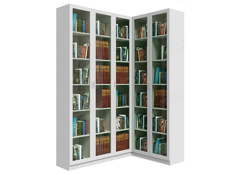 шкаф для книг стекло